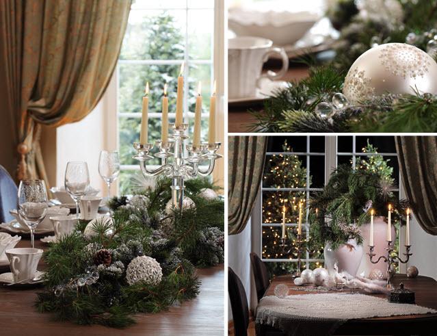 Aranżacja świątecznego stołu - Almi Decor