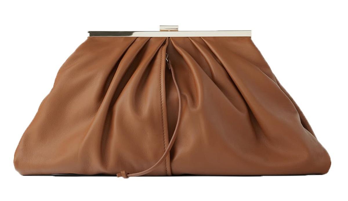 brązowa torebka Zara