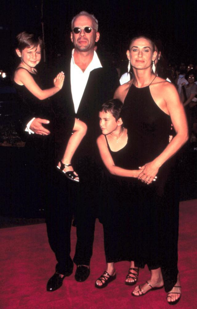 Bruce Willis z Demi Moore