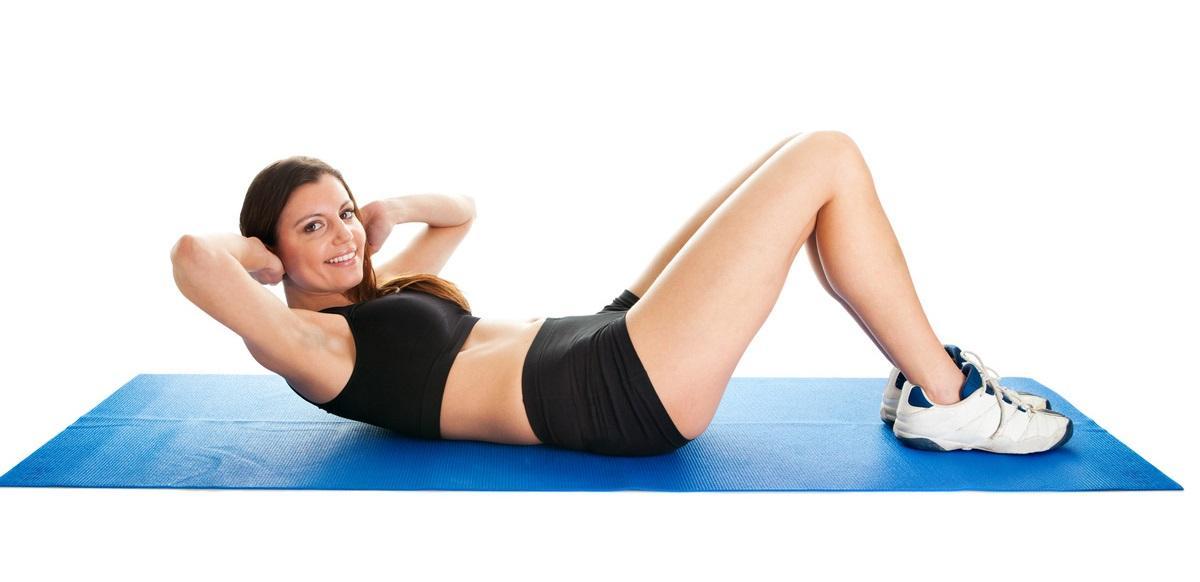 brzuszki na mięśnie proste brzucha