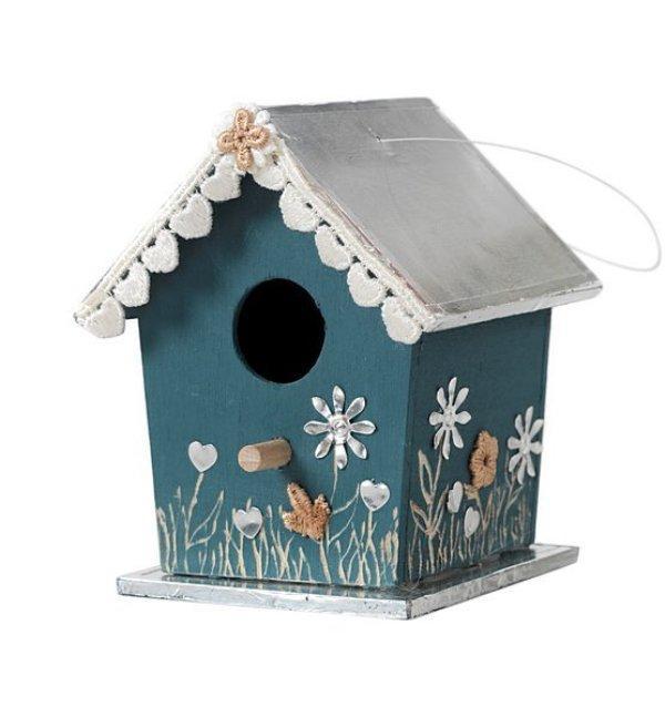 dekoracyjne budki dla ptaków
