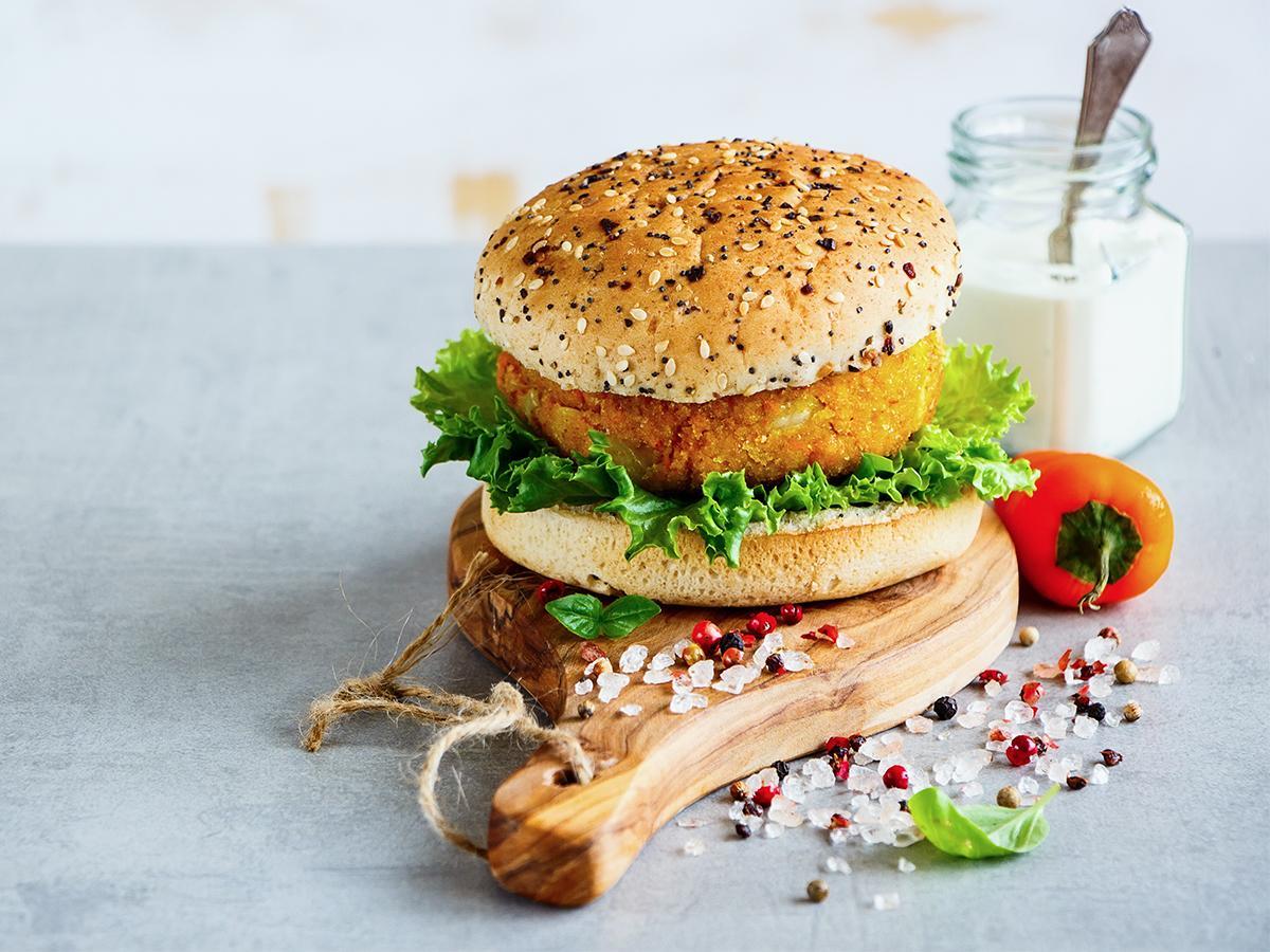 burgery z płatkami owsianymi przepis
