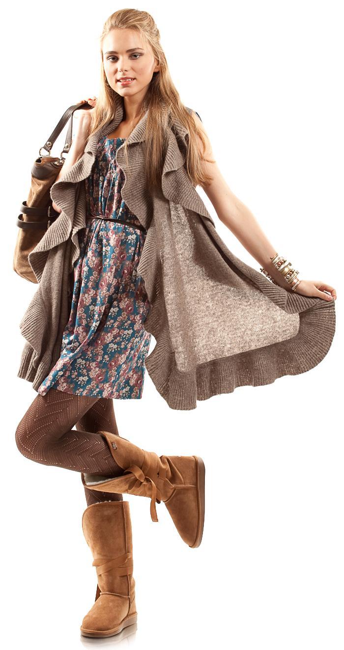 Buty Emu - do czego nosić? - stylizacje
