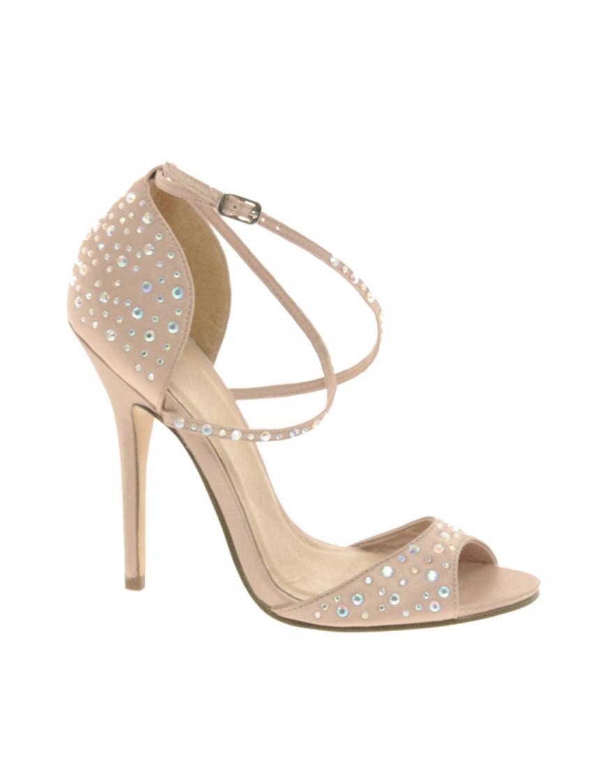 295fddf1b20da beżowe sandały ślubne Asos - Kremowe i beżowe buty ślubne - Suknie ...