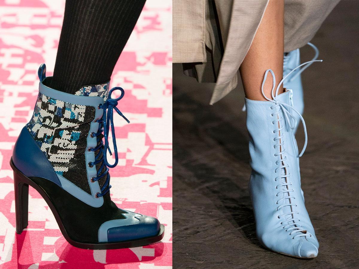 Buty na jesień i zimę 2019: sznurowane botki