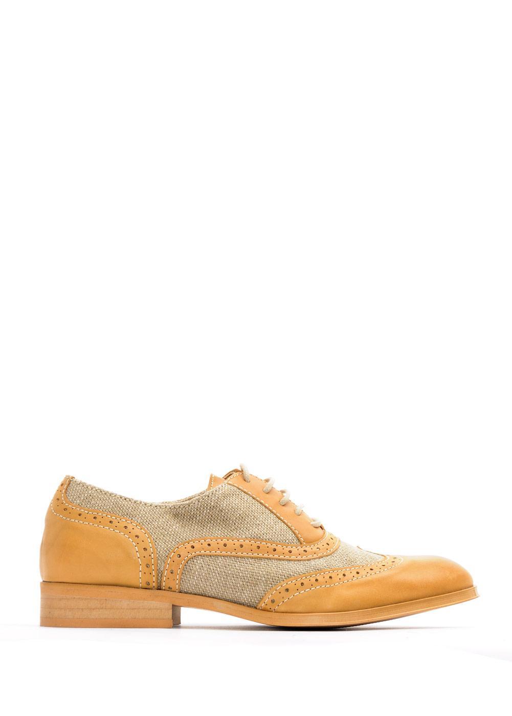 brązowe buty Mango - wiosna/lato 2011