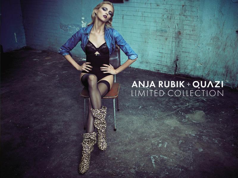 Anja Rubik dla Quazi - limitowana kolekcja - jesień-zima 2010/11