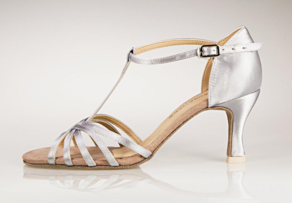 b35cf904f6c srebrne buty ślubne Sensatiano z paskiem - Buty ślubne i taneczne ...