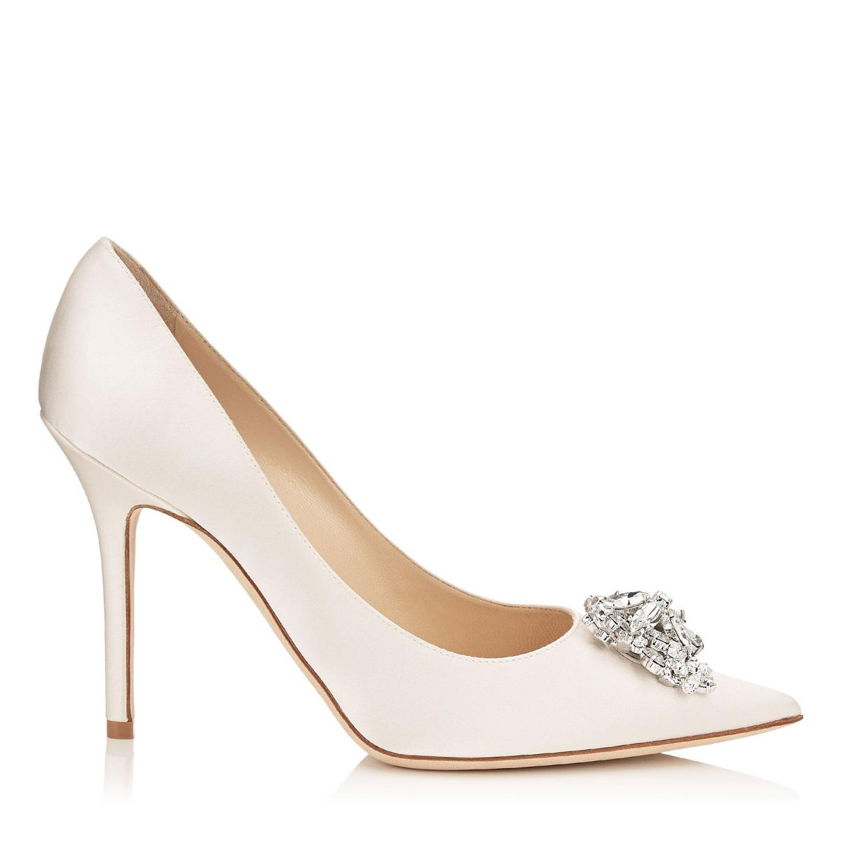Stunningly beautiful designer bridal shoes, designed in London by Emmy Scarterfield. Hand lasted in our dedicated workshop our wedding shoes are made with love and incredible skill, using only the finest materials and stunning hand-beaded embellishments.