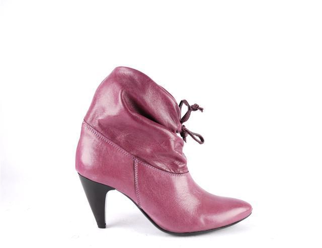 Buty VENEZIA w śliwkowym kolorze - jesień-zima 2007/2008 - Zdjęcie 2