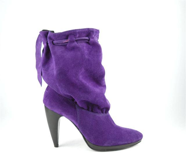 Buty VENEZIA w śliwkowym kolorze - jesień-zima 2007/2008 - zdjęcie