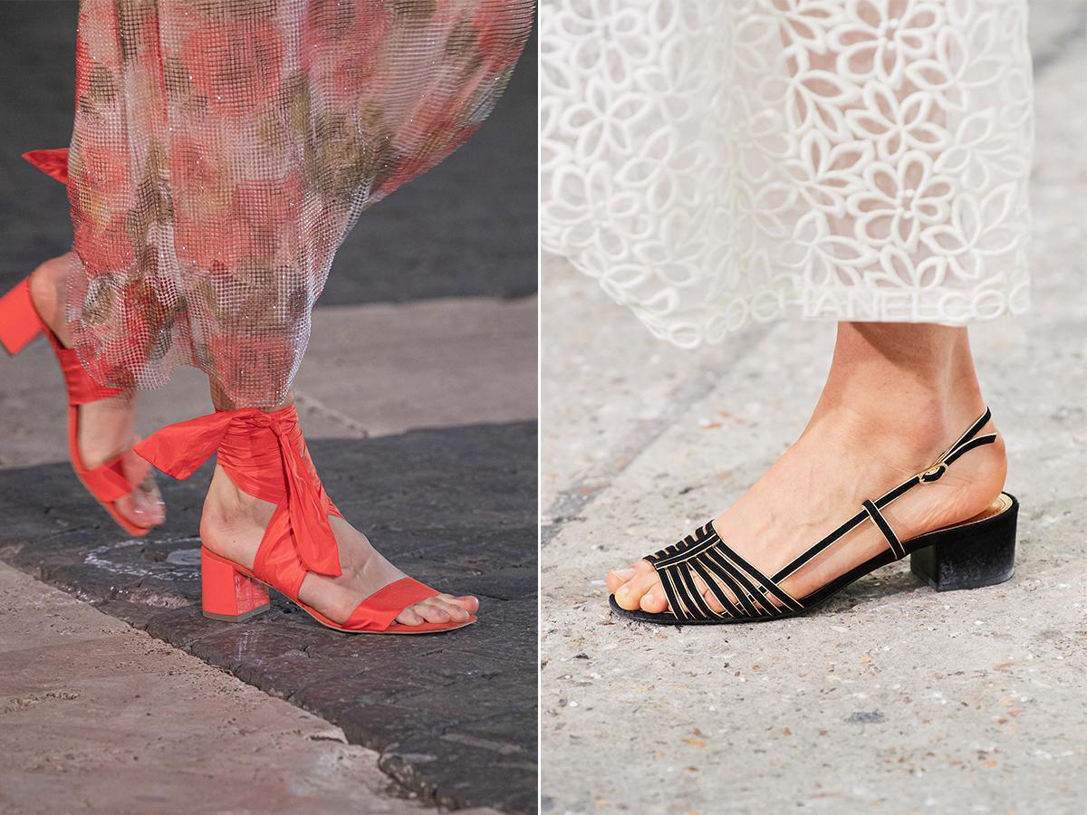 buty na niskim obcasie wiosna 2021