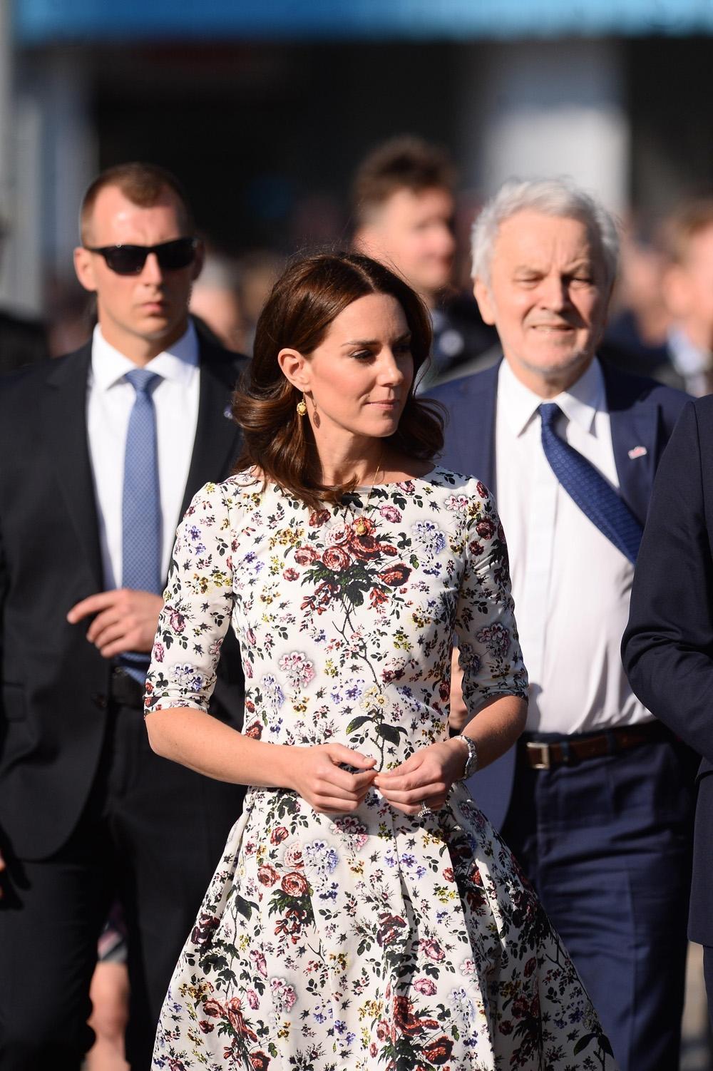 Księżna Kate, książę William, Gdańsk
