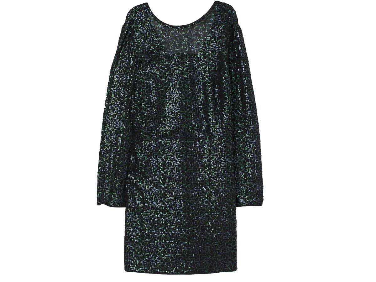 Cekinowa sukienka H&M