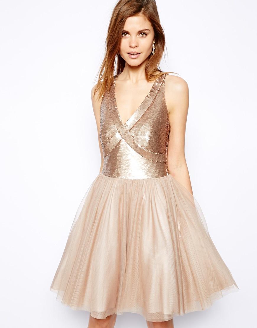 460d10fe50 sukienka Asos z cekinami - Cekinowe sukienki - Trendy sezonu ...