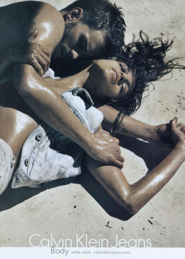 Eva Mendes, Calvin Klein
