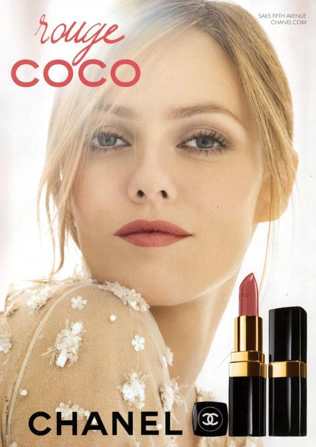 """Vanessa Paradis zostaął twarzą nawych szminek Chanel """"rouge coco"""""""