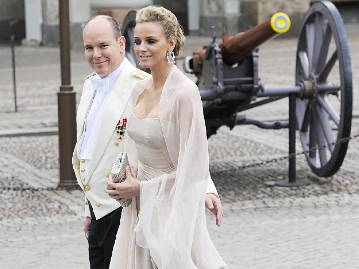 Księżna Charlene i Albert II
