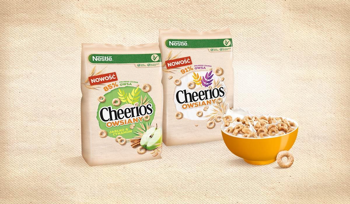 Nestlé Cheerios Owsiany jabłko i cynamon opinie