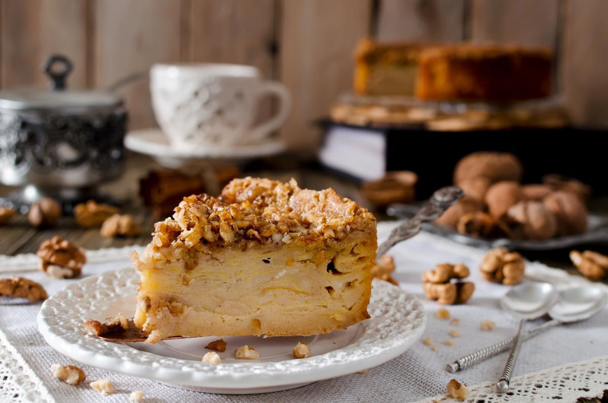 Ciasto z jabłkami - szarlotka sypana