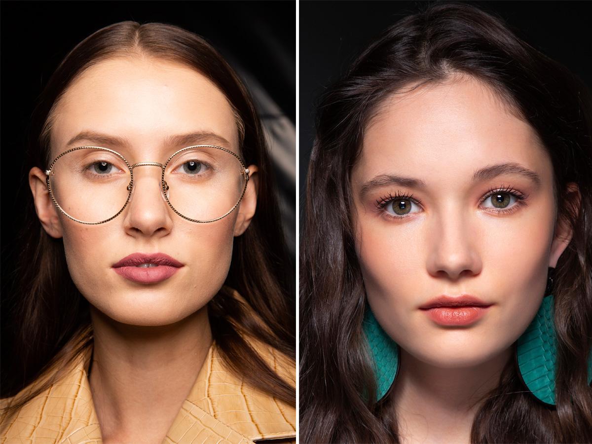 Modny makijaż 2020 matowe usta