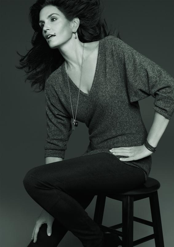 Cindy Crawford twarzą kolekcji C&A - jesień-zima 2012/2013