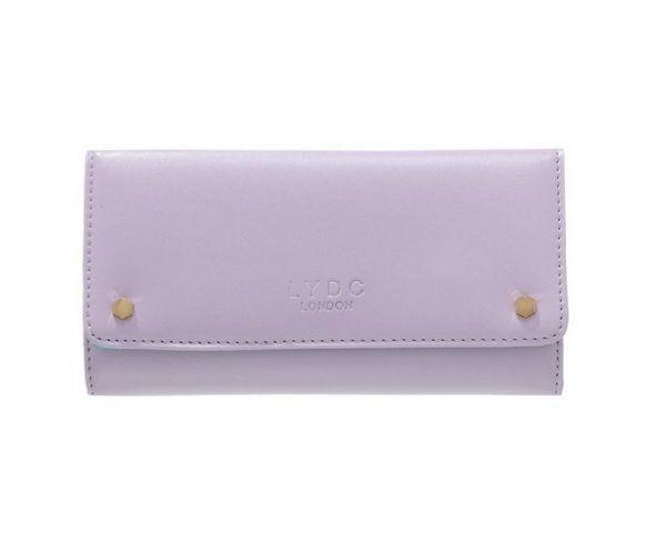 Elegancki portfel w kolorze liliowym LYDC London Zalando 109 zł.jpg