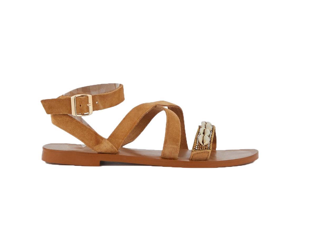 Sandały z muszelkami, Promod, cena ok. 119,90 zł