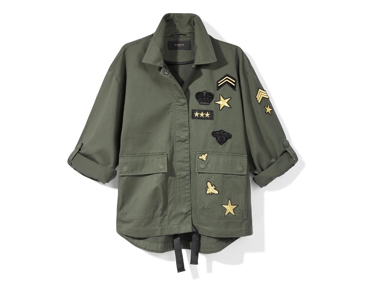 Kurtka w militarnym stylu Reserved, cena