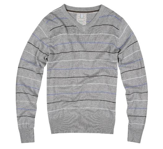 Diverse, szary sweter męski