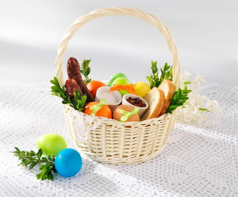 Wielkanocny koszyczek: Jajka