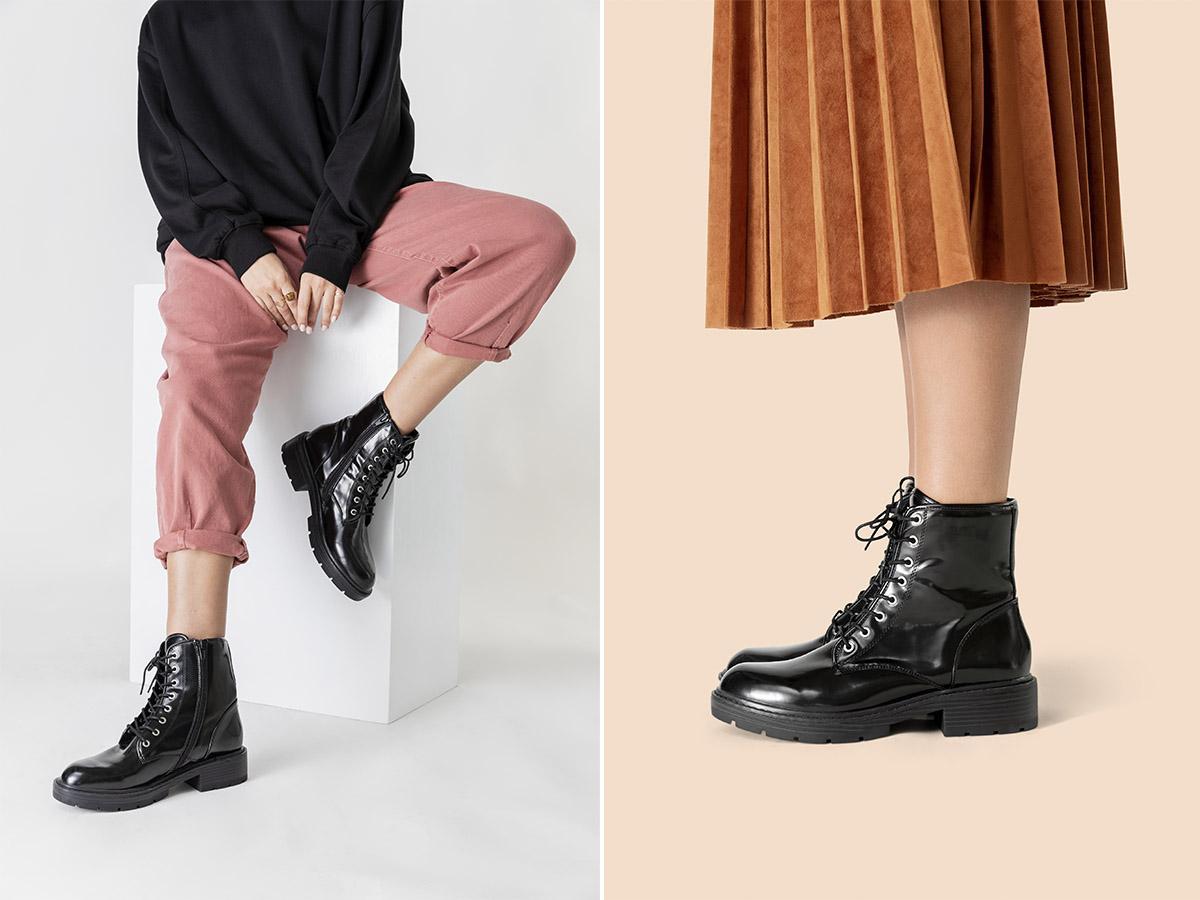 combat boots z czym je nosić