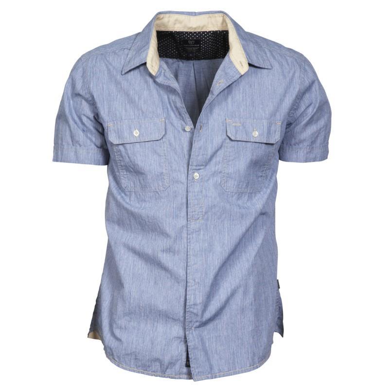 koszula Cottonfield dżinsowa - moda wiosna/lato