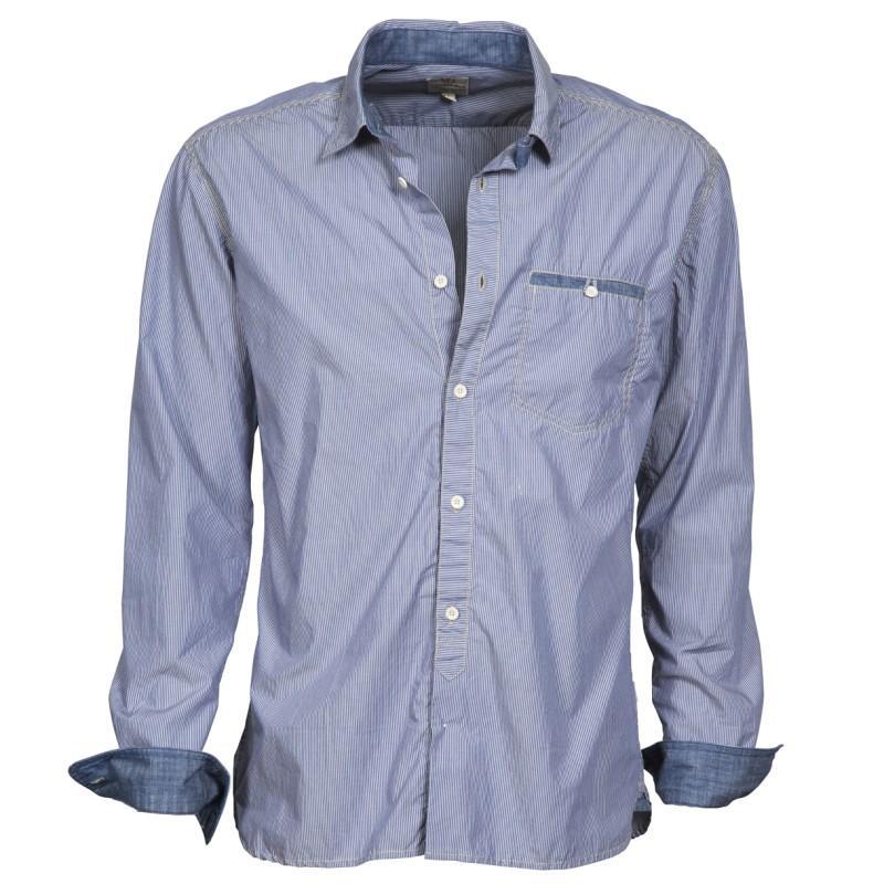 niebieska koszula Cottonfield - moda wiosna/lato