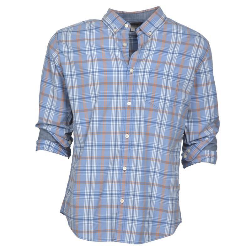 niebieska koszula Cottonfield w kratkę - moda wiosna/lato