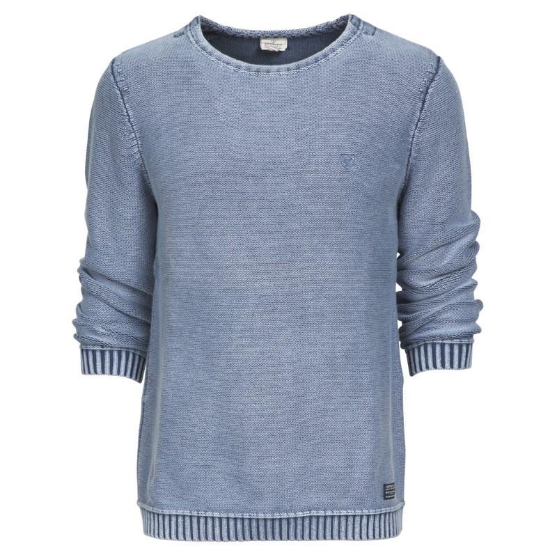 niebieski sweter Cottonfield - moda wiosna/lato