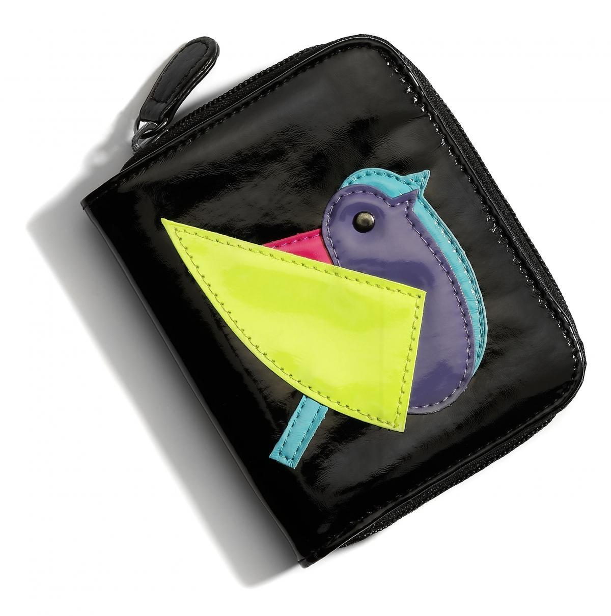 czarny portfel Cropp - wiosna 2011