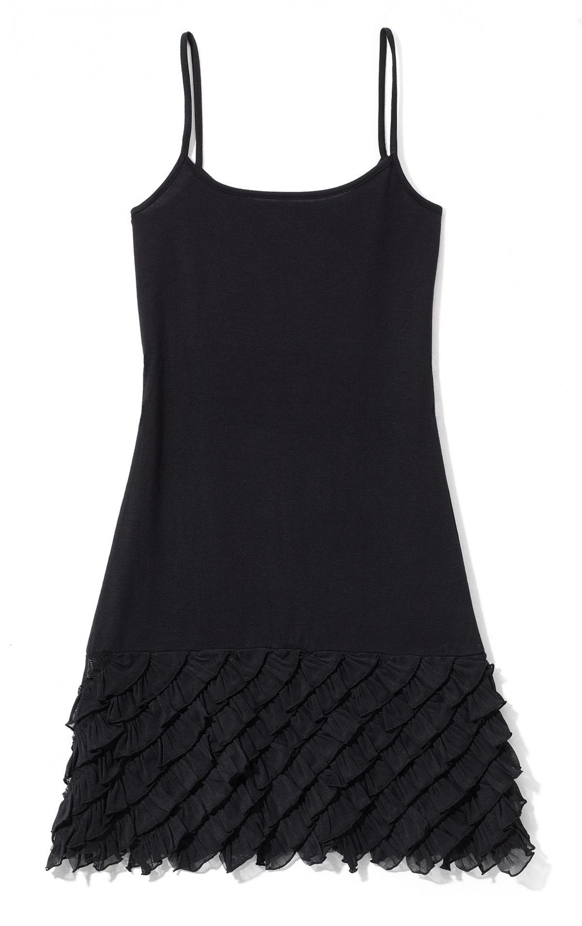 czarna sukienka Cropp - wiosna 2011