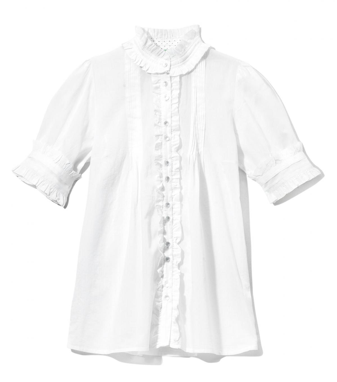 biała bluzka Cropp - wiosna 2011
