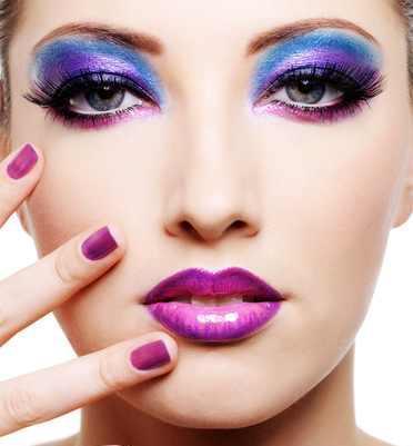 Cukierkowy makijaż - galeria