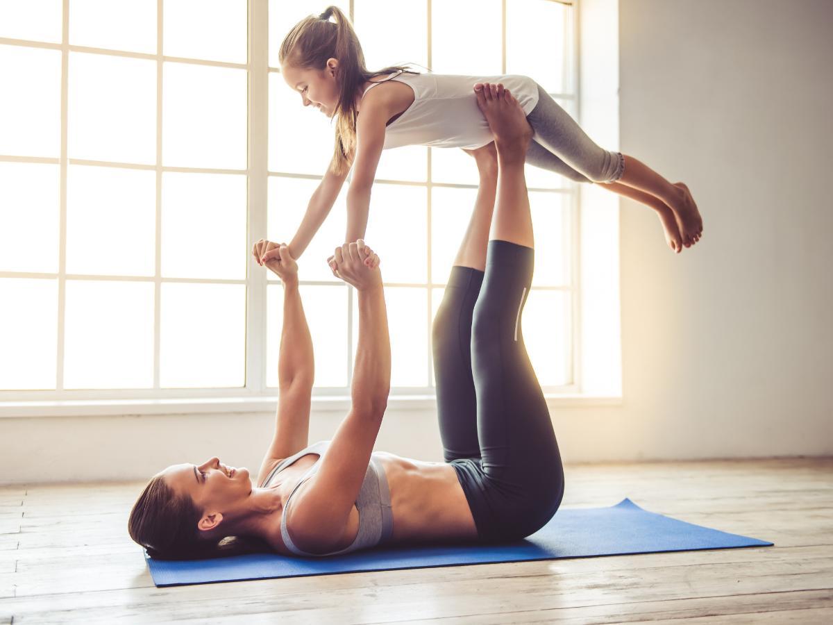Ćwiczenia fizyczne dla dzieci w domu
