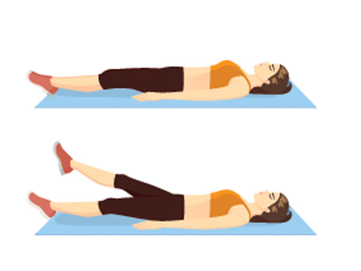Ćwiczenia na brzuch dla początkujących: nożyce