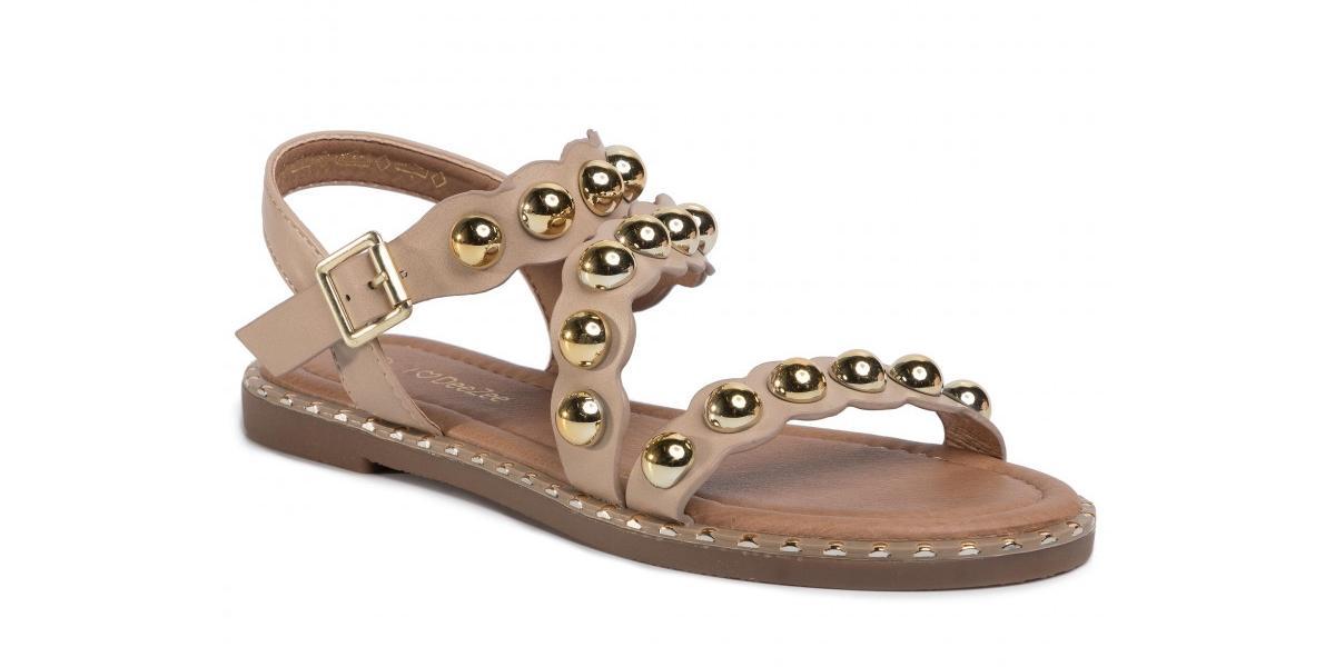 ćwiekowane sandały DeeZee