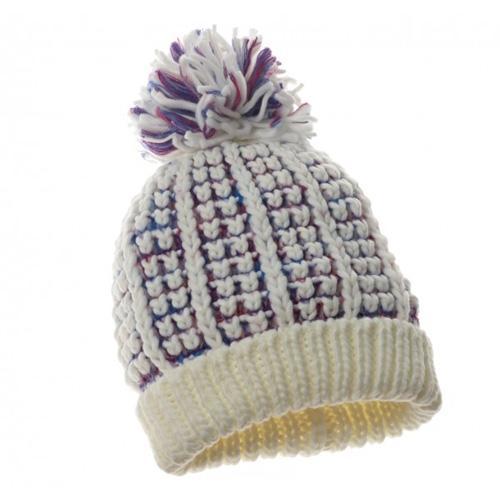Beżowa czapka z pomponem, Claires