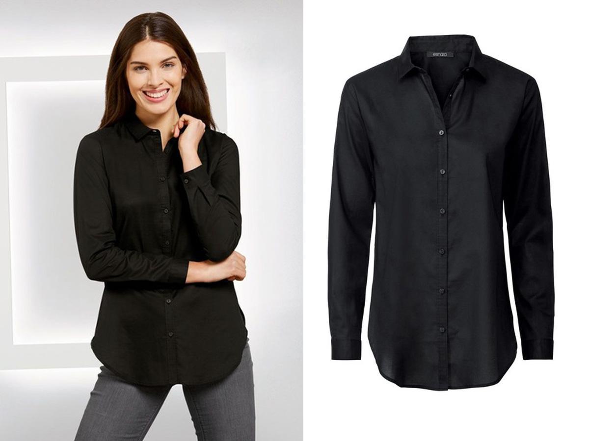 Czarna koszula Lidl