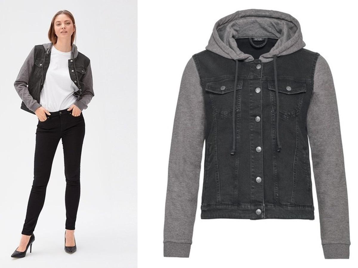czarna kurtka jeansowa Lidl