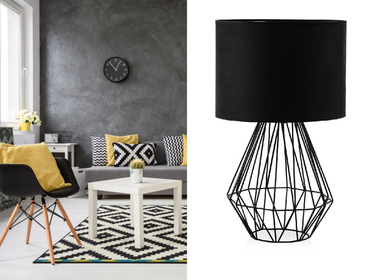 Czarna lampa z Home&You
