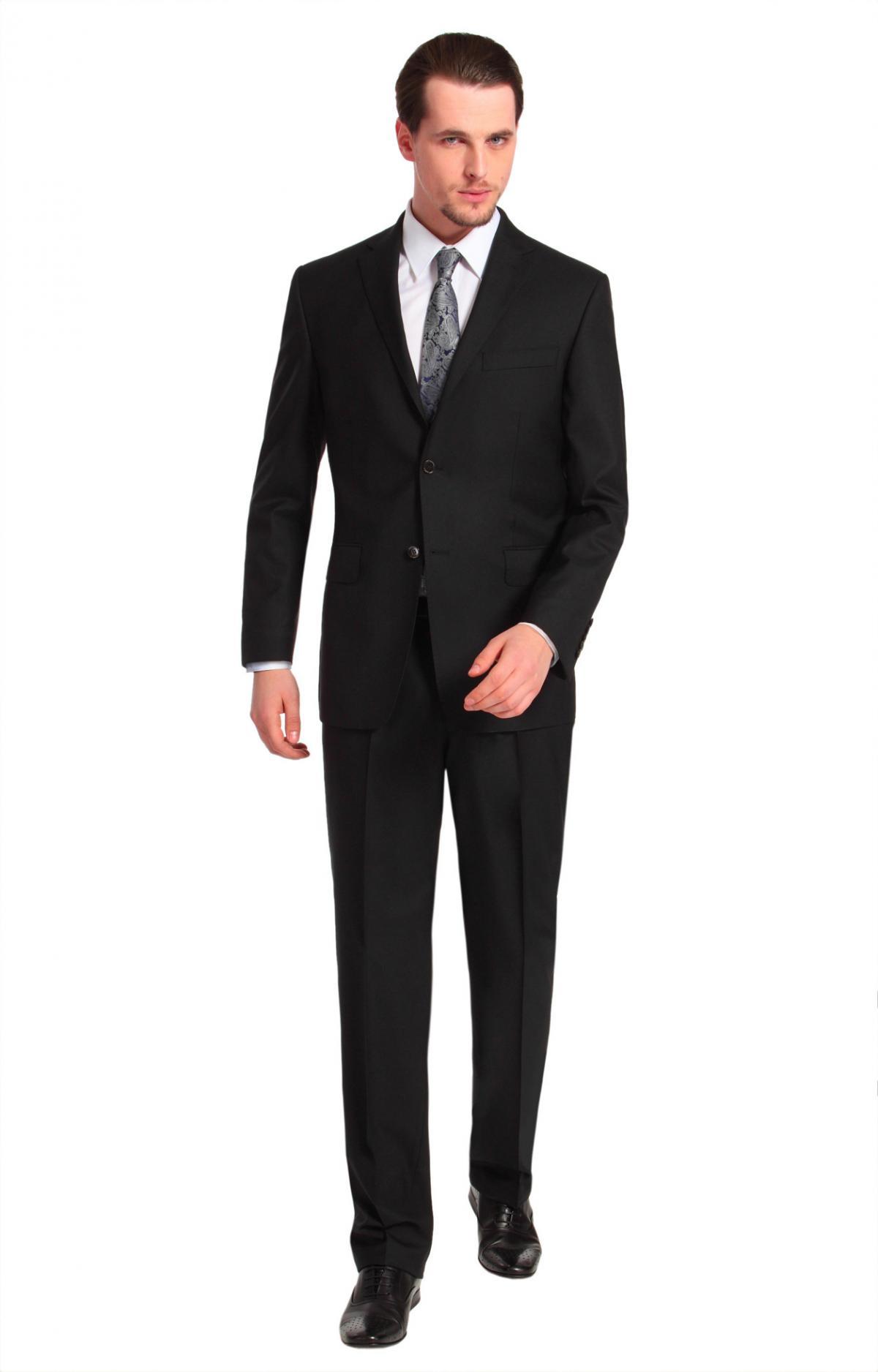czarny garnitur Vistula jednorzędowy