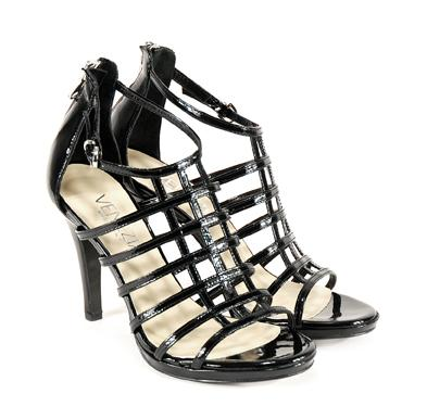 czarne sandały Venezia - kolekcja letnia