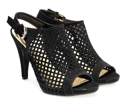 czarne sandały Venezia - lato 2011